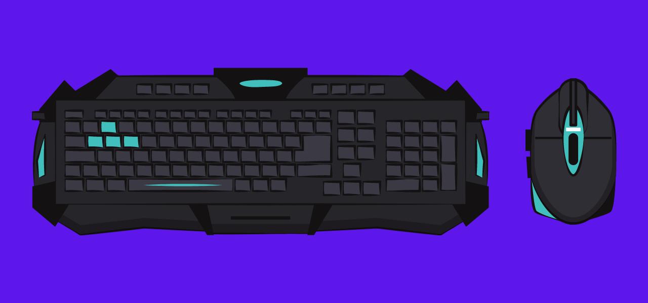 Keyboard og datamus